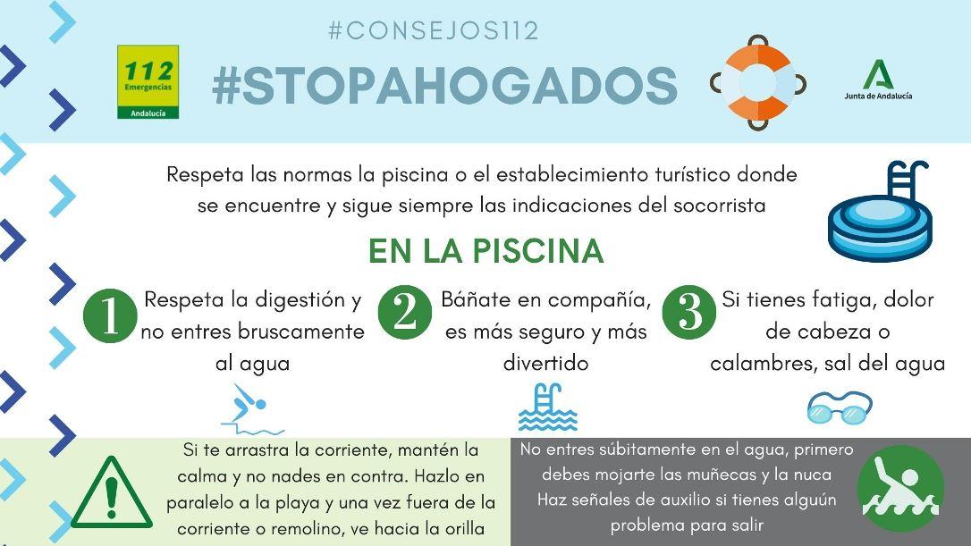 Andalucía sigue la estrategia #StopAhogados